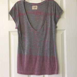 Grey/pink fadedtshirt by Gypsy 05